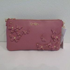 Jessica Simpson VANESSA Orchid New Crossbody Bag